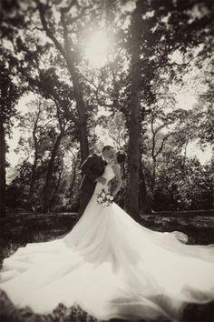 gorgeous photo of wedding gown