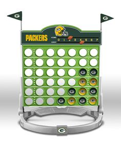 Green Bay Packers Connect Four Game