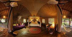 L'eco-lodge di lusso Eden Lodge