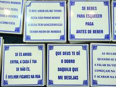 Resultado de imagem para portugal azulejos com dizeres