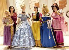 Historical Disney Princess cosplayers