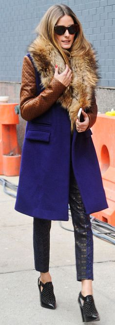 Olivia Palermo's fashion week outfits are always, pretty much, the best #streetstyle