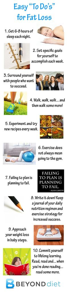 "Easy ""To Do's"" for Fat Loss"