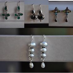 Check out the newest collection of earrings by chocolatepepper. All under $40.00.  Be fabulous  Be unique Be you