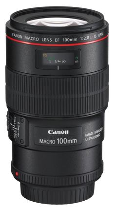 Amazon.com: Canon EF 100mm f/2.8L IS USM Macro Lens for Canon Digital SLR Cameras: CANON: Camera & Photo