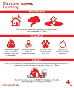 Great Reminder of what we need to know in case of a Disaster or Emergency (redcross.ca)