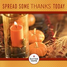 While the turkey is still frozen and the table doesn't need to be set, take this moment of calm to share the little things we each should be thankful for.