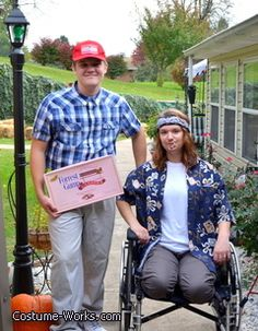 Forrest Gump & Lt. Dan - DIY Halloween costumes