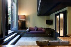 *sofá de alvenaria
