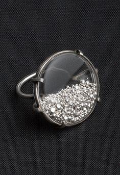 Ring Transparent Fine silver | Ann Demeulemeester 555