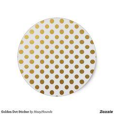 Golden Dot Sticker