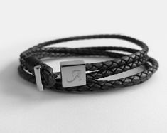 Engraved Jewelry, Jewellery, Unique, Bracelets, Leather, Fashion, Moda, Jewels, Fashion Styles
