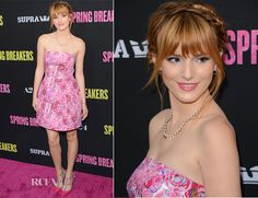 Bella Thorne In Topshop -'Spring Breakers' LA Premiere