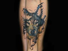 wolf tattoo by jay freestyle
