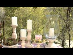 Back to Basics Decorating by PartyLite Candles®  #decorating #partylite #candles  Look at my website: www.partylite.biz/loyalchrista