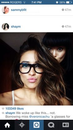 Hair crush! Shay Mitchell has the most wondrous volume And perfect balayage for her dark hair.