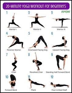 20 Minute Yoga Workout For Beginners Best Weight Loss