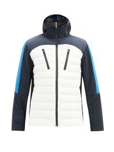 Phantom colour-block hooded down ski jacket | Capranea | MATCHESFASHION UK