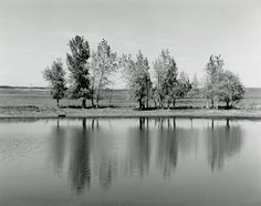 Robert Adams  A Farm Pond about to be Destroyed by Earth Moving Machinery, Northglenn, Colorado1973gelatin-silver print  http://fraenkelgallery.com/wp-content/uploads/2012/04/Adams_Denver-8-760x600.jpg