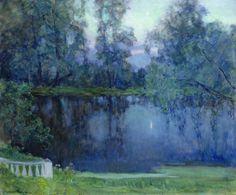 Napping pond (1945) - Byalynitsky-Birulya Witold Kaetanovich