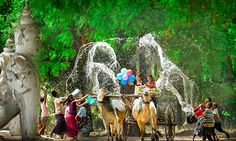 Celebrate Burmese New Year in Myanmar - Myanmar tours services