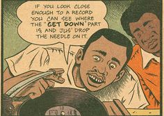 """""""jus drop the needle on it"""""""