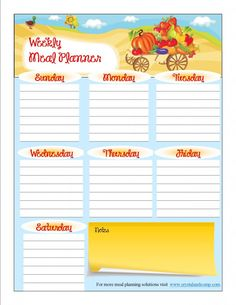 As we enter Fall and crave comfort food, weekly meal planning is super important for making dinnertime easy and manageable for families. Meal Planner Printable, Weekly Meal Planner, Planner Pages, Menu Planners, Daily Planners, Origami, Bookbinding Tutorial, Learn Calligraphy, Travel Humor