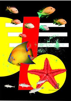 Sea collage (Цифровое искусство) - Natalia Кislitsa