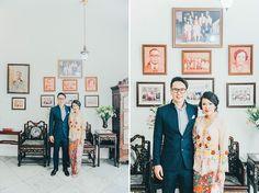Julius and Eileen's Vibrant Traditional Peranakan Wedding