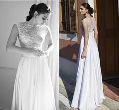 Aline Wedding Dresses 2015 A Line Wedding Dresses With Cap Sleeves By Riki Dalal High Neck Flowers Beading Pearls Satin Bridal Gowns With Sweep Train Exquisite Wedding Dresses From Nicedressonline, $188.7| Dhgate.Com