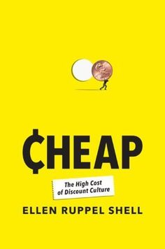 I've been listening to Cheap on audiobook. It delves into various aspects of America's obsession with discount culture—including its often irrational psychology, sociological and environmental implications, and controversial inception in the 1920s. Shell is a fiery and provocative guide who forces you to consider all sides of a complex issue that has both local and international implications. -Megan