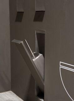 Sesamo bathroom accessories range by Arkimera for Antonio Lupi Design