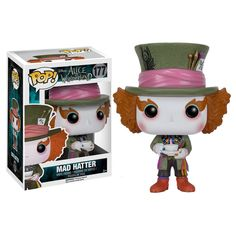 Buy Disney Alice in Wonderland Mad Hatter Funko Pop! Vinyl from Pop In A Box Canada, the home of Funko Pop Vinyl collectibles figures and other Funko goodies! Pop Vinyl Figures, Funko Pop Figures, Billy Madison, Disney Pop, Jeepers Creepers, Funko Pop Marvel, The Witcher, Crash Bandicoot, Star Wars
