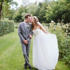 Completely DIY wedding in a castle in Belgium
