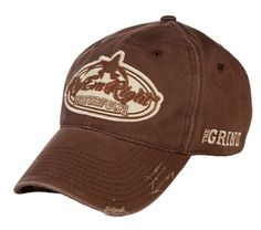 f0a06b5843d Apparel    Rig Em Right · Brown Distressed Hat - Unstructured - Hats -  Apparel Beanie