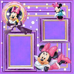 Free Disney Scrapbook Layouts | Disney QP #1 | Digital Scrapbooking at Scrapbook Flair