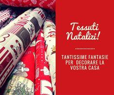 Tantissimi tessuti per decorare le vostre tavole delle feste!