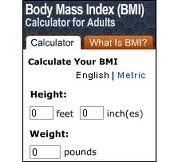 bady mass index