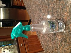 Fantastic cleaner! Saw a pin that said it was great on laminate hardwood floors and stainless so I tried it..works amazing and also made my patio glass tables, granite counters and French doors sparkle!  1C alcohol 1C vinegar 1 C water and 3 drops dish soap . Mix in a spray bottle.