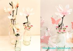 Madame Gaianna Silhouette Cameo, Glass Vase, Pink, Home Decor, Glee, Creative, Dekoration, Decoration Home, Room Decor