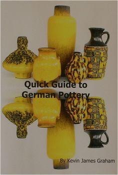 Quick Guide to German Pottery covers the main producers: : Bay , Carstens, Ceramano, Cortendorf, Dümler & Breiden, ES-Keramik, Fohr, Gräflich, Haldensleben VEB, Hutschenreuther, Ilkra, Jasba, Jopeko, Karlsruhe, KMK, Roth,  Ruscha, Scheurich, SMF, Steuler,  Strehla VEB, Ü-Keramik, Wächtersbach, Zell. Just designed for a beginner, but more knowledgeable people would learn from it too.