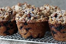 Blueberry Oat Streusel-Topped Muffins