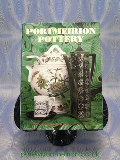 Portmeirion Pottery By Stephen McKay & Steven Jenkins Signed