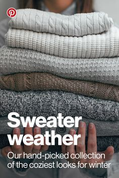 Shop our collection of cashmere, cable knits, cardigans and more sweaters to throw on this season. Tap any Pin with a blue price to buy it right from the app.