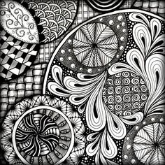 zentangles taken to the extreme