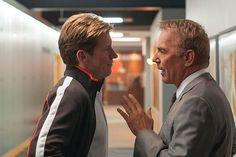 """Mr. Costner, putting your hand up is not going to help you win this staring contest."" (Draft Day)"
