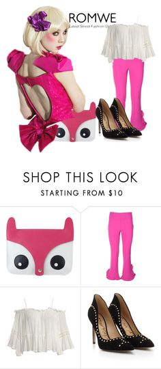 """""""romwe"""" by alibaba-i ❤ liked on Polyvore featuring L'Autre Chose, Sans Souci and Sam Edelman"""