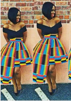 ~African fashion, Ankara, kitenge, African women dresses, African prints, Braids...