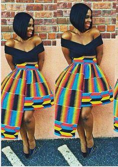 ~African fashion, Ankara, kitenge, African women dresses, African prints, Braids...
