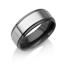 "Tungstino Ring ""Shiny Black"" Wolframcarbid"
